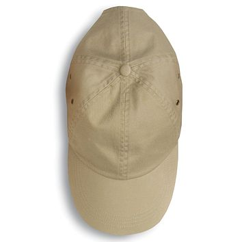Anvil Adult Solid Low-Profile Twill Cap