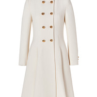 Moschino - Virgin Wool Pleated Coat