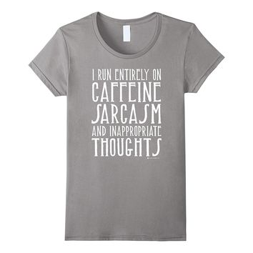 Gifts for coffee drinkers funny profanity humor t shirts