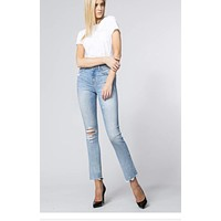 Done Searching Straight Leg Jeans