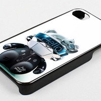 hello daft punk dj evolution kk for iphone 4/4s case, iphone 5 case