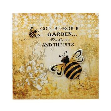 Bumble Bee Tin Wall Art (pack of 1 EA)