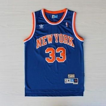 New York Knicks #33 Patrick Ewing Swingman Jersey | Best Deal Online