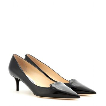 jimmy choo - allure patent-leather pumps