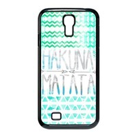 New HAKUAN MATATA Hybrid Hard Back Case Cover Skin For Samsung Galaxy S4 IV i9500+VAMVAN CLEANING CLOTH