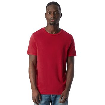 Alternative Apparel - The Outsider Heavy Wash Jersey Red T-shirt