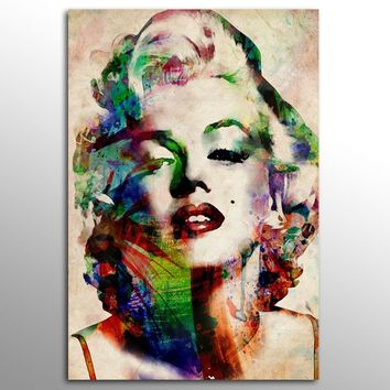 Without Frame Decor Canvas Painting Wall Pictures 1 Panels Wall Art  Marilyn Monroe Canvas Art Home Decor Modern  Pictures,