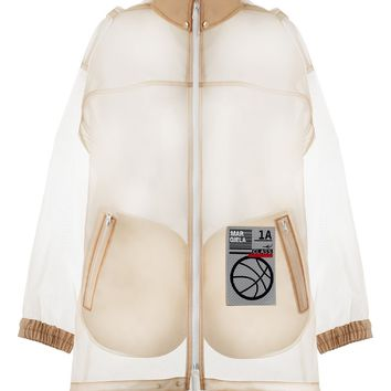 Transparent Patch Raincoat by Maison Margiela