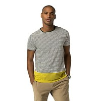 Colorblock And Stripes Tee | Tommy Hilfiger USA