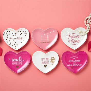 Better Together Heart Trinket Tray