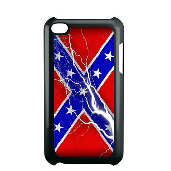 Confederate Rebel Flag Thunder iPod Touch 4 iPod Touch 5 iPod Touch 6 Case
