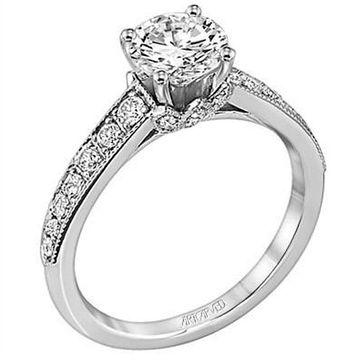 "Artcarved ""Amelia"" Diamond Engagement Ring"