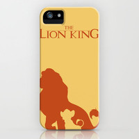 The Lion King iPhone Case by Citron Vert | Society6