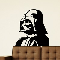 Wall Decal Vinyl Sticker Movie Star Wars Darth Vader Decor Sb376