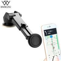 Universal Magnetic Car phone Holder Adjustable Car Windshield Dashboard Mount Suction Cup Stand for Mobile phone Accessories