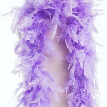 Little Adventures Lilac Feather Boa