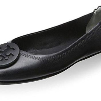 Tory Burch Women's Minnie Travel Ballet Flat with Logo