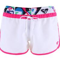 Swimwear Board Shorts Women Quick Dry Polyester Printed Pattern Size S/M/L ZH392