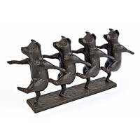 Park Avenue Collection Dancing Pigs Chorus Line Statue