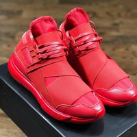 Y3 Qasa running shoes red size 36-45