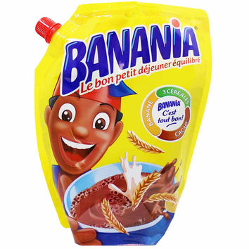 Banania Breakfast Chocolate Drink Mix 14.1 oz. (400g)
