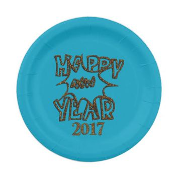New Year's Celebration PAPER PLATES