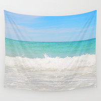 Beach Anna Maria 4 - Wall Tapestry