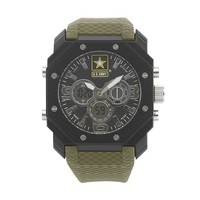 Wrist Armor Watch - Men's Military United States Army C28 Analog & Digital Chronograph