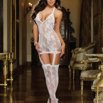 Florence Hosiery Garter Dress