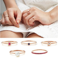 Fashion Ring Set