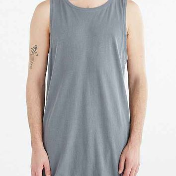 Feathers Side Roll Tank Top