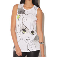 Tinker Bell Muscle Tank | Shop Just Arrived at Wet Seal
