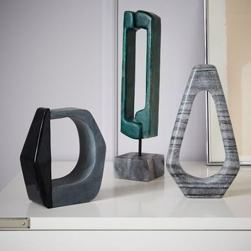 Abstract Sculpture Objects