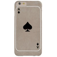 iPhone 6/6s spade Barely There iPhone 6 Plus Case