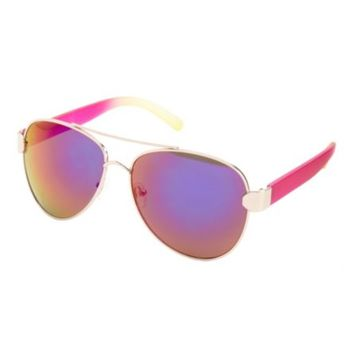 Matte Ombre Aviator Sunglasses