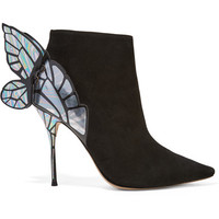 Sophia Webster - Chiara suede ankle boots