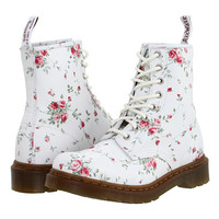 Dr. Martens 1460 W 8-Eye Boot White/Portland Rose - Zappos.com Free Shipping BOTH Ways