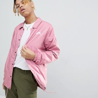 Nike SB Coach Jacket In Pink 829509-678 at asos.com