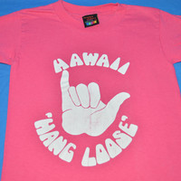 80s Hawaii Hang Loose t-shirt Youth Medium