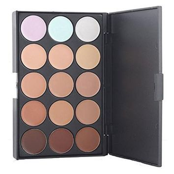 Professional 15 Colors Cream Concealer Camouflage Foundation Makeup Palette Contour Face Contouring Kit