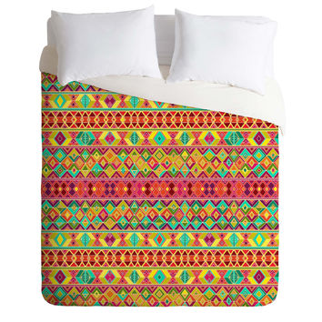 Sharon Turner Acid Weave Duvet Cover