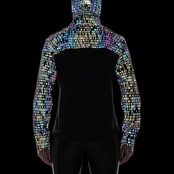 The Nike HyperShield Flash Women's Running Jacket.