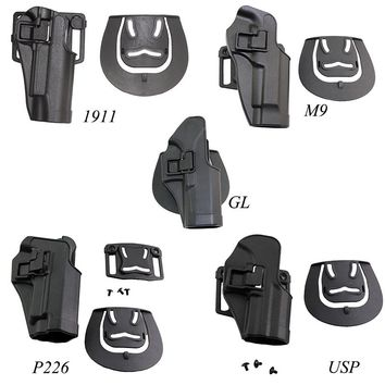 Tactical Holster Ipsc Hunting Hand Gun Accessories Airsoft Holsters For Gl 17 19 22  M9 92 Colt 1911 Sig P226 HK USP