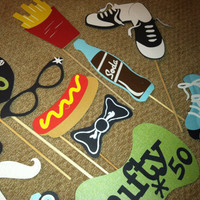 PHOTO BOOTH PROPS:  The Nifty 50 sock hop