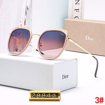 DIOR Popular Women Simple Casual Shades Eyeglasses Glasses Sunglasses 3#