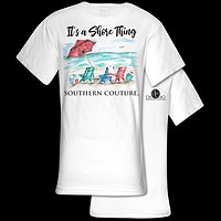 Southern Couture Comfort It's A Shore Thing Comfort Colors T-Shirt
