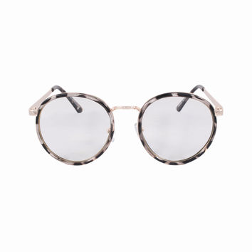 Circle Clear Lens Lola Glasses