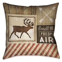 Country Cabin I Indoor Decorative Pillow