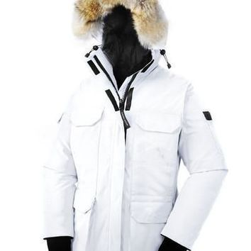 Women's Goose Expeditio Down Jacket Coat Winter Thick Cotton Padded Jacket - Ready Stock