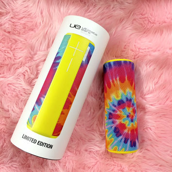 THE COBRASNAKE TIE DYE UE BOOM SPEAKER